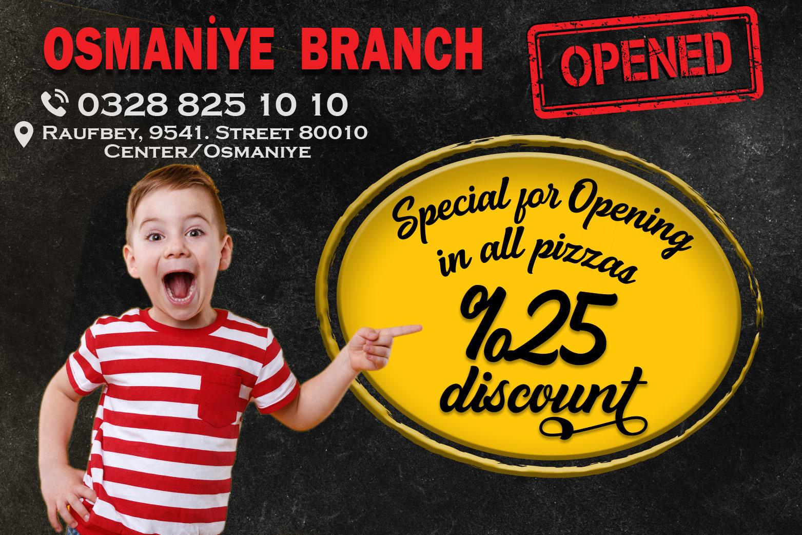 Osmaniye Branch Opened