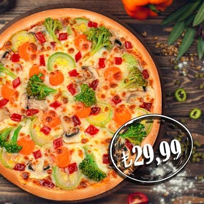 Garden Pizza Orta Boy ( Yeni Ürün)