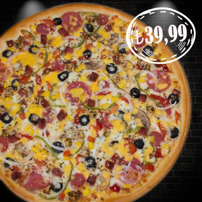 Ultra Karışık Pizza