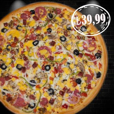 Ultra Mixed Pizza
