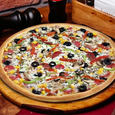 Süper Karışık Pizza