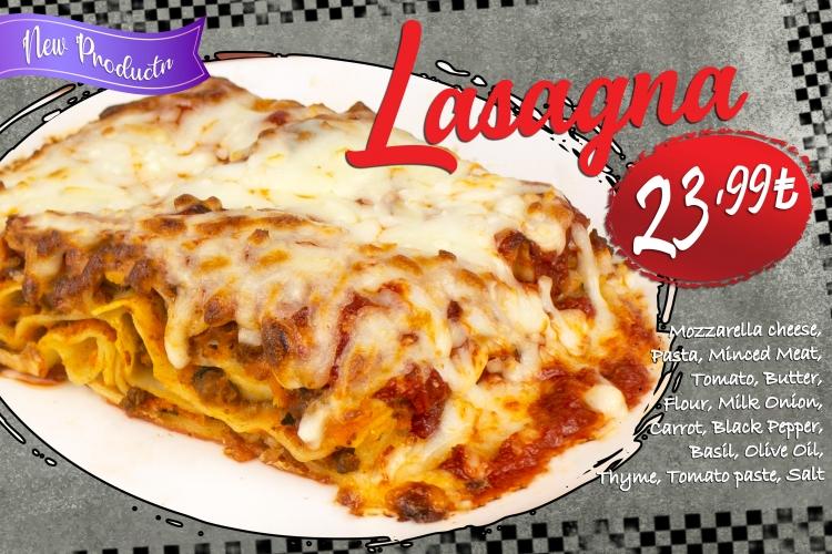 Lasagna (▶️ ️ New Product)