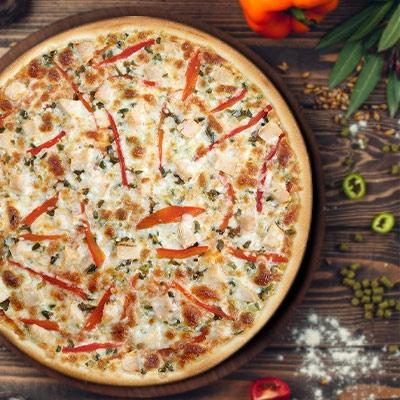 Acılı Tavuk Pizza