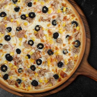 Tonbalıklı Pizza
