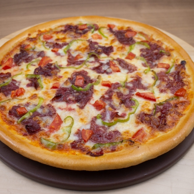 Pastrami Pizza