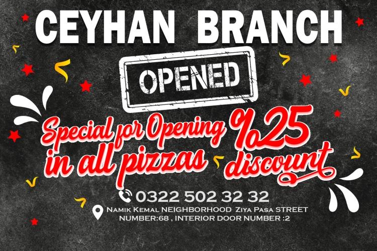 Ceyhan Branch Opened